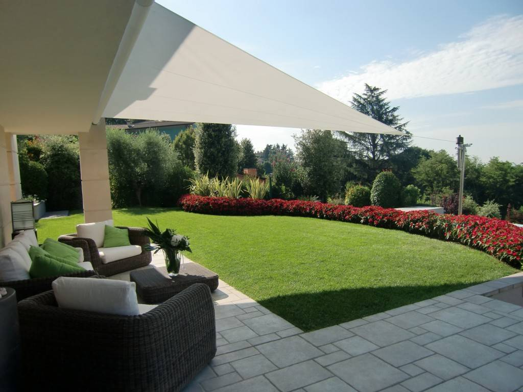 La voile d\'ombrage pour terrasse - Blog Decoration Maison