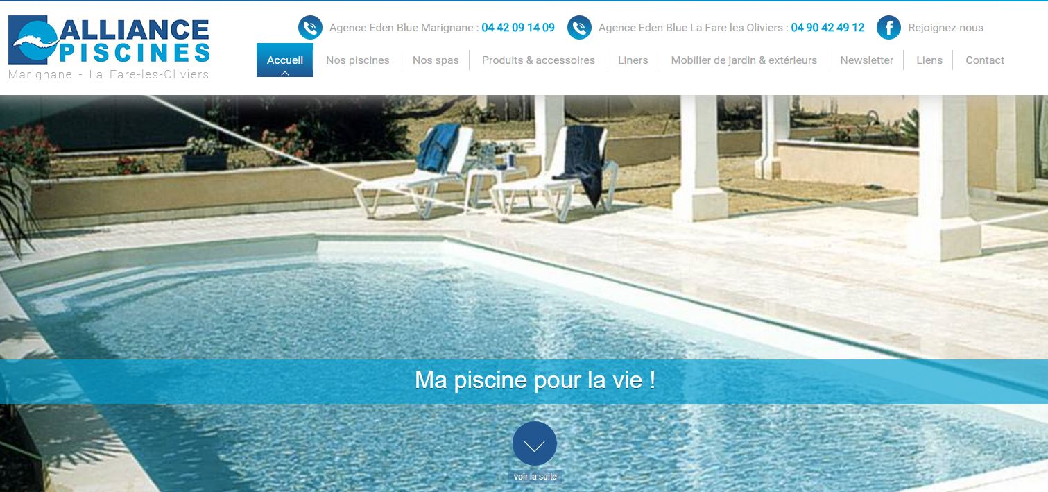 mobilier de jardin design pour agr menter votre piscine marignane id es d co pas cher. Black Bedroom Furniture Sets. Home Design Ideas
